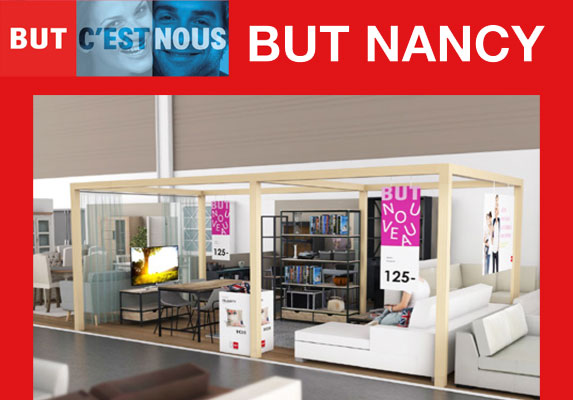 univers habitat march mobilier but nancy le magasin r v des clients. Black Bedroom Furniture Sets. Home Design Ideas