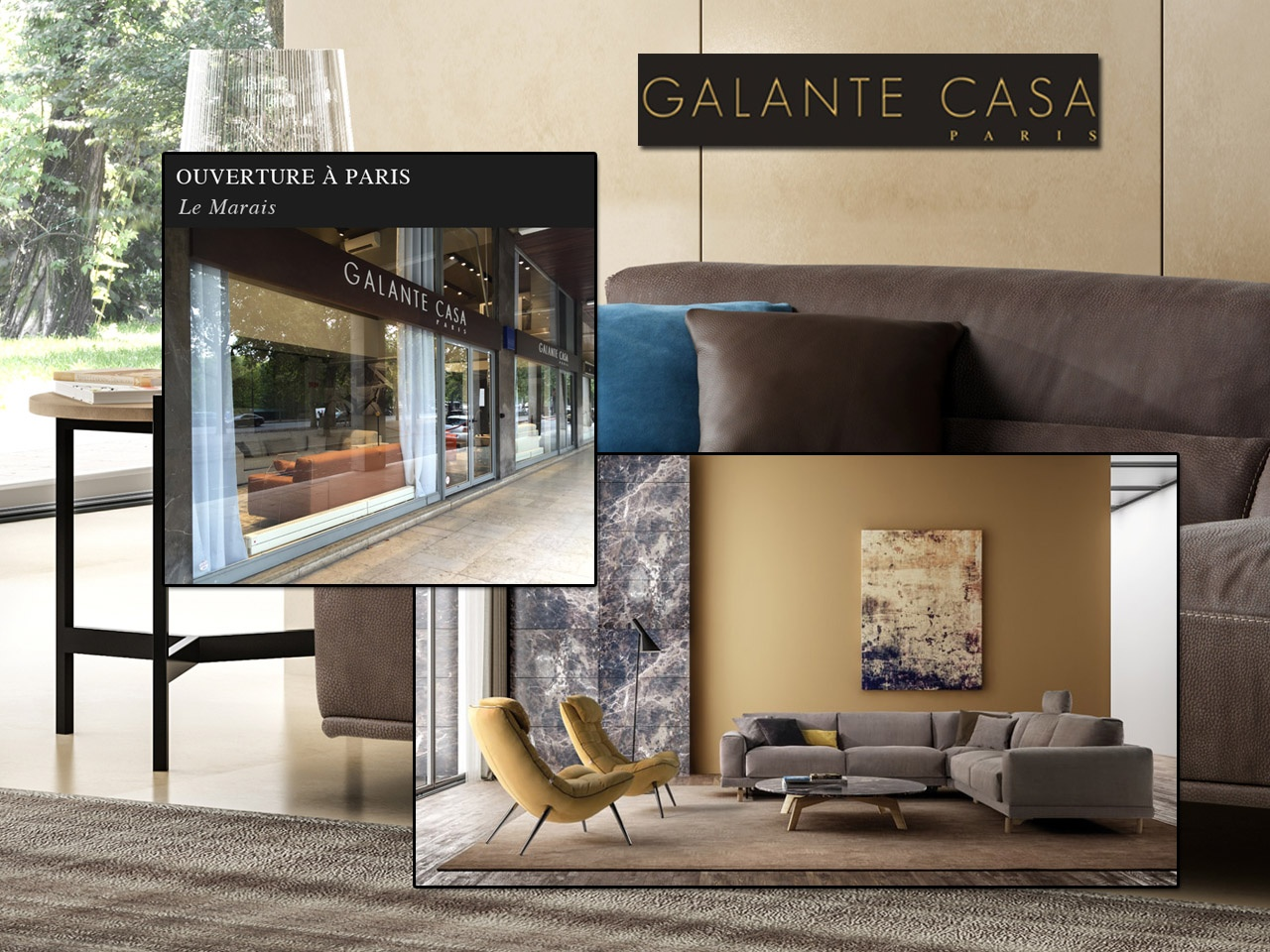 Univers habitat march mobilier galante casa premi re boutique p - Esprit magasin paris ...