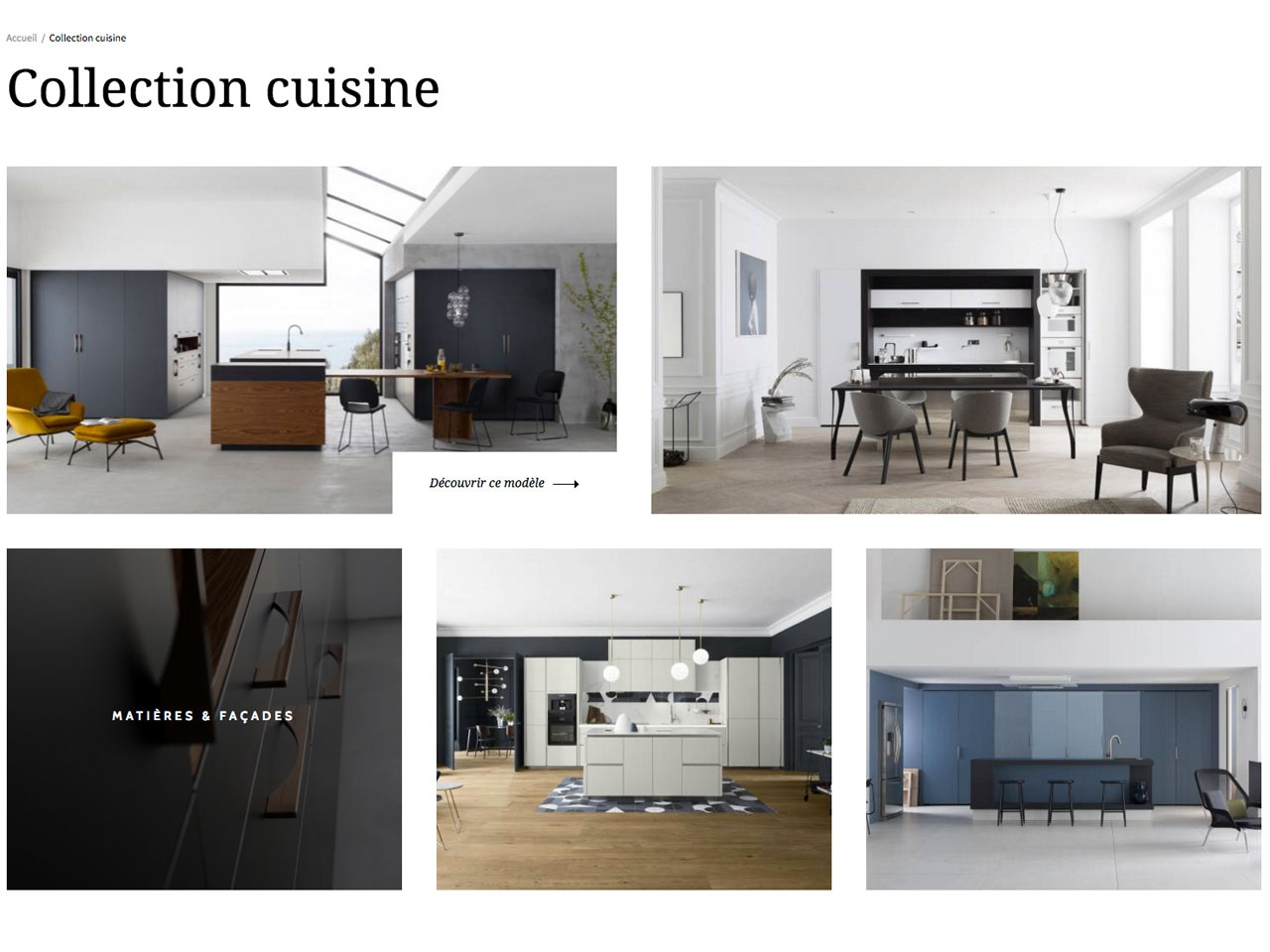Univers habitat march cuisine nouveau site internet for Article pour cuisine