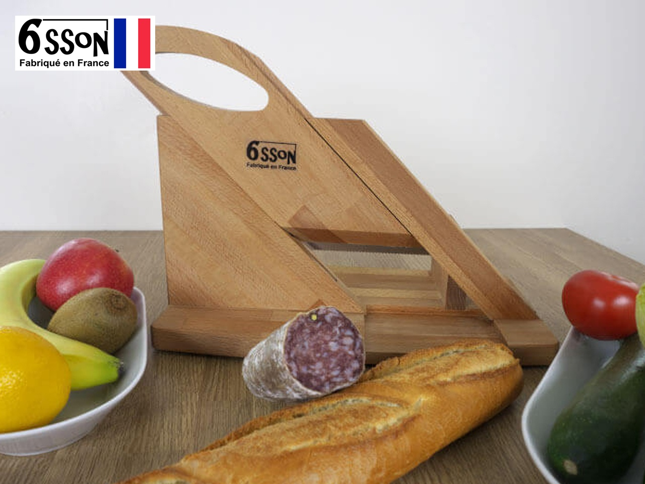 La trancheuse 6SSON Compact, un cadeau de No�l Made in France