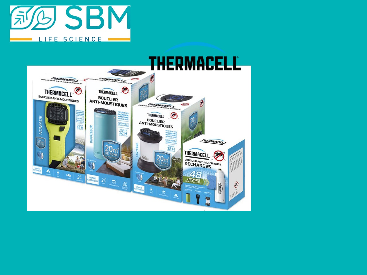 SBM Life Science devient distributeur exclusif THERMACELL®*
