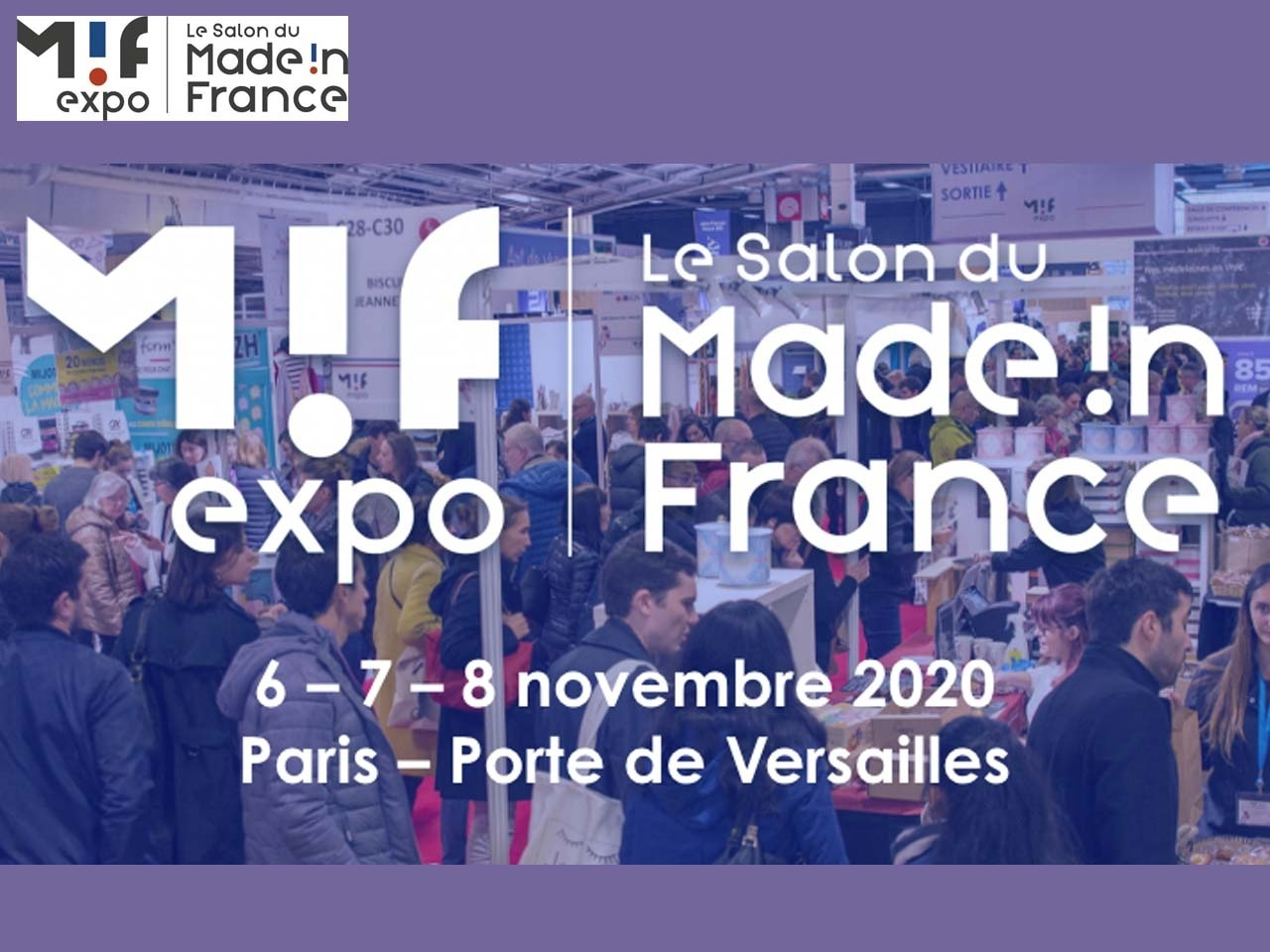 Le Salon du made in France est de retour du 6 au 8 novembre 2020 !