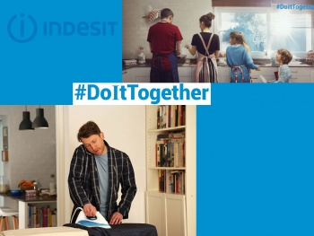 INDESIT : seconde édition de la campagne #DoIt Together*