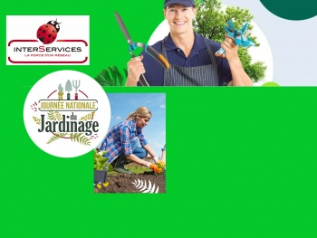 2nd édition de la Journée Nationale du Jardinage le 29 mars 2019