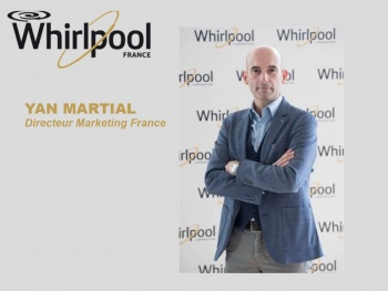 Groupe Whirlpool : nomination de Yan Martial au poste de Directeur Marketing France