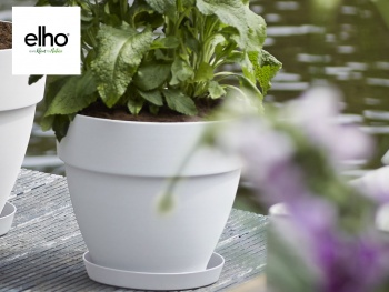 Elho :Zoom sur la collection de pots Vibia