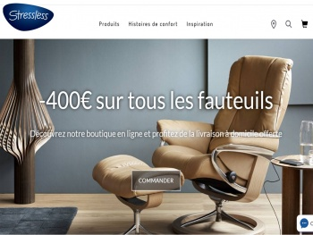 Stressless® développe le business on line