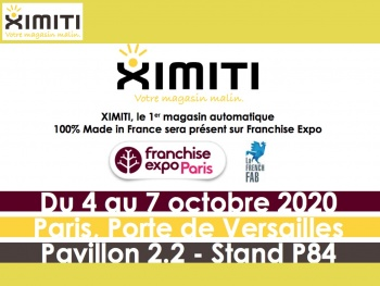 XIMITI, le 1er magasin automatique 100% Made in France sera pr�sent sur Franchise Expo