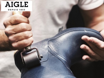 Aigle met le caoutchouc naturel � l'honneur au salon du Made in France