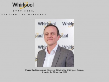 Pierre Duchier nommé à la direction de Whirlpool France
