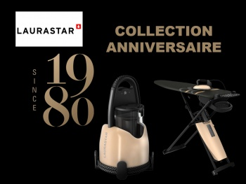 LAURASTAR : Collection Anniversaire noir & or, pour SMART & LIFT 1980
